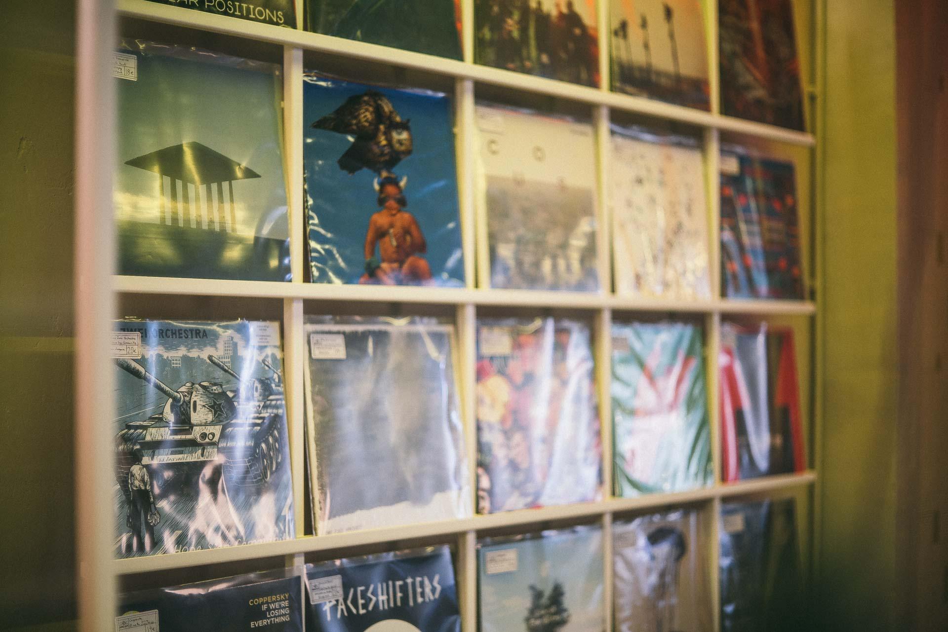 Recordstore Koffieleute - foto: Paulus van Dorsten